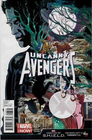 Uncanny Avengers #23 1:10 Agents of Shield Variant