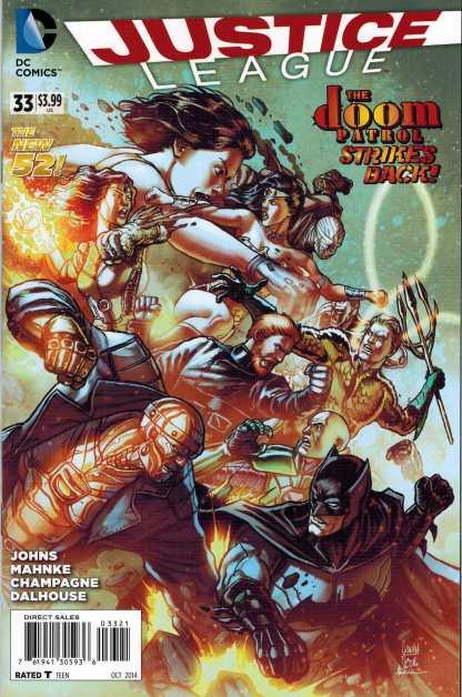 Justice League #33 1:25 Doom Patrol Variant DC New 52 2011