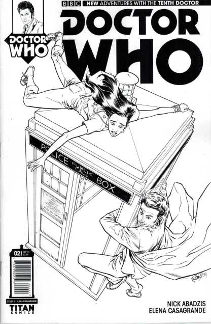 Doctor Who the 10th Doctor #2 1:25 Variant Tenth