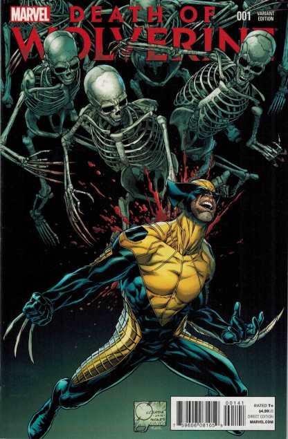 Death of Wolverine #1 1:100 Joe Quesada Variant