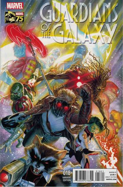 Guardians of the Galaxy #18 1:75 Alex Ross Variant