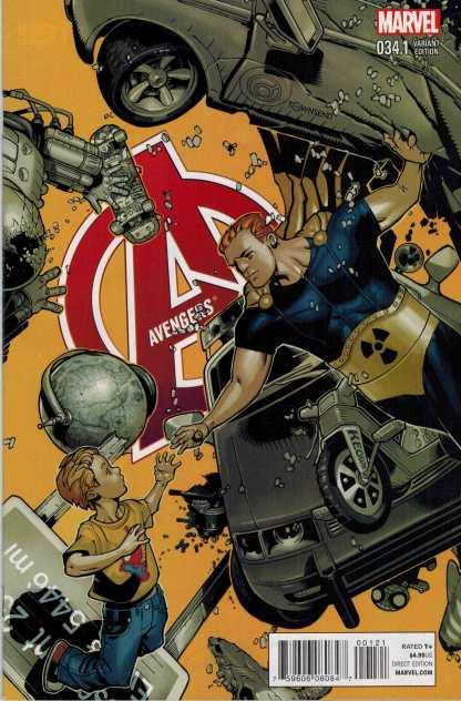 Avengers #34.1 1:25 Chris Bachelo Variant