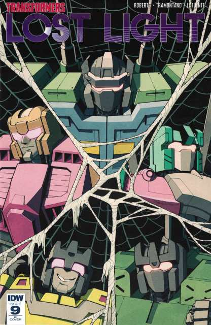 Transformers Lost Light #9 1:10 Andrew MacLean Variant RI Cover IDW 2017