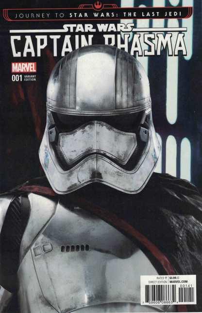 Journey Star Wars Last Jedi Captain Phasma #1 1:15 Movie Variant Marvel