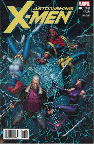 Astonishing X-Men #3 1:25 Dale Keown Variant Marvel 2017