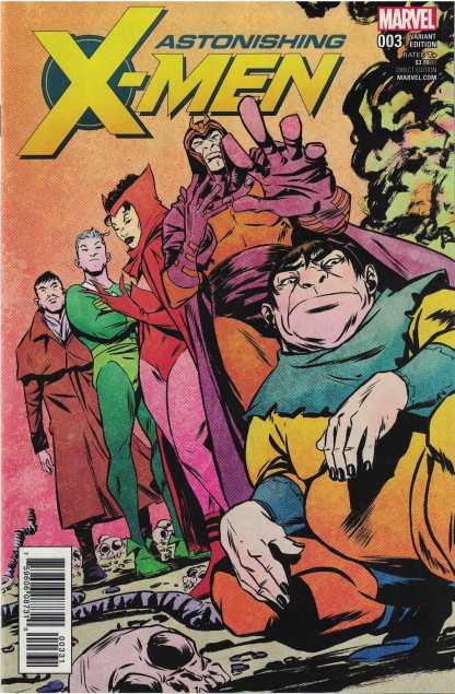 Astonishing X-Men #3 1:25 Sanford Greene Variant Marvel 2017