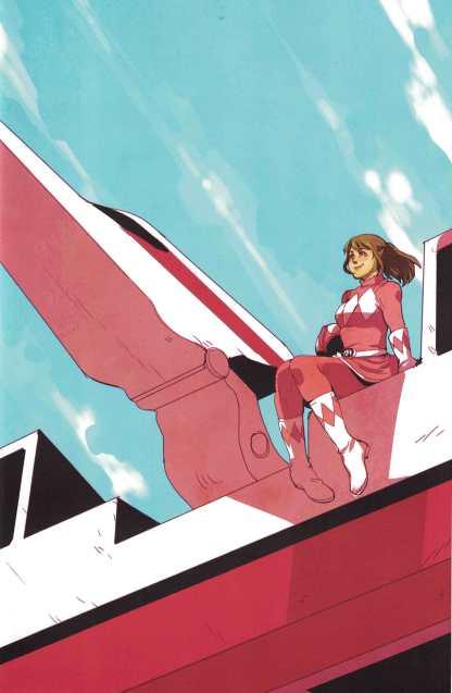 Power Rangers Pink #3 1:20 Emily Hu Variant Boom Studios Mighty Morphin 2016