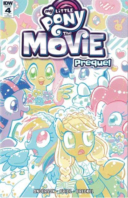 My Little Pony The Movie Prequel #4 1:10 Kaori Matsuo Variant IDW 2017
