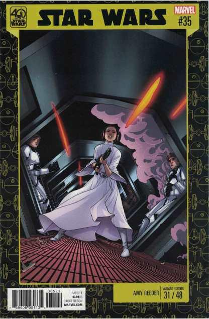 Star Wars #35 Amy Reeder Unlocked 40th Anniversary Variant Marvel