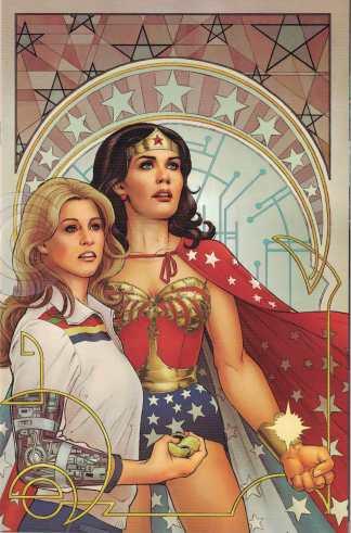 Wonder Woman 77 Bionic Woman #6 1:25 Nicola Scott Virgin Variant Dynamite