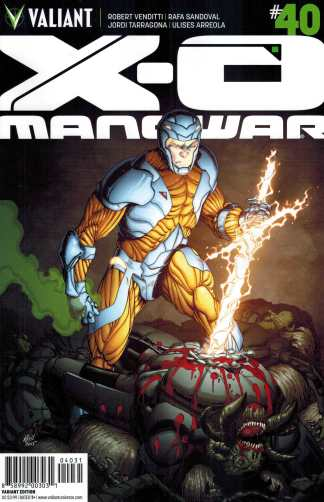 X-O Manowar #40 1:20 Robert Gill Variant Valiant 2012