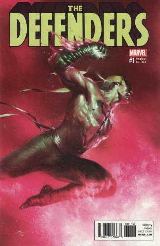 Defenders #1 Gabriele Dell'Otto Store Exclusive Iron Fist Variant Marvel 2017