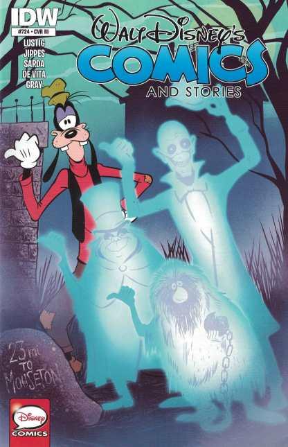Walt Disney Comics Stories #724 1:25 Charm Variant IDW Haunted Mansion