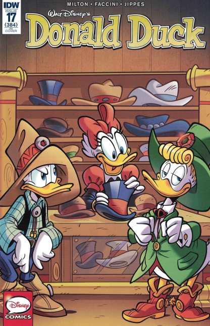Donald Duck #17 1:10 Asaro Retailer Incentive Variant Cover RI IDW 2016 384 Disney