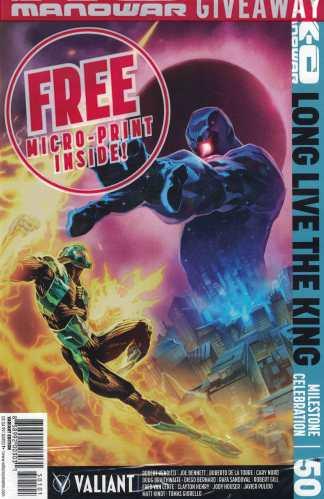 X-O Manowar #50 1:15 Philip Tan Variant Cover J Valiant