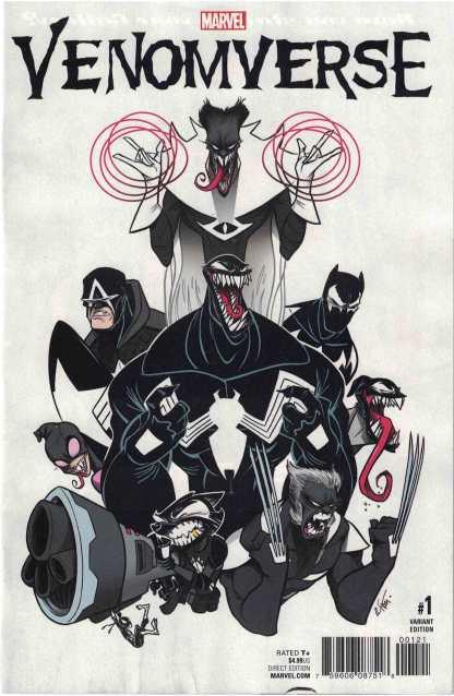 Venomverse #1 1:50 Gustavo Duarte Variant Marvel 2017
