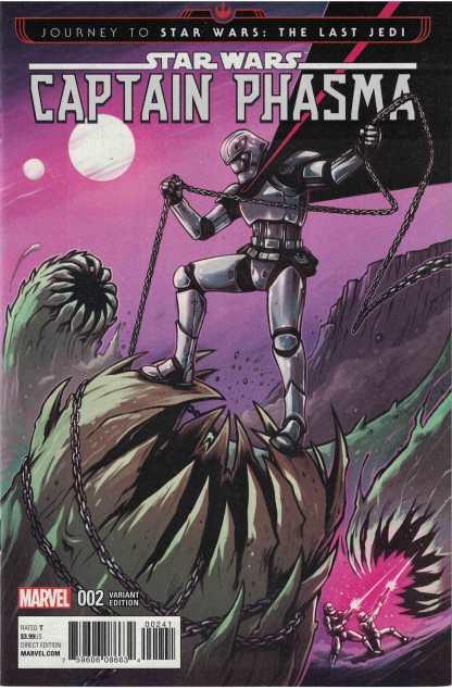 Journey to Star Wars Captain Phasma #2 1:25 Wijngaard Variant Marvel 2017