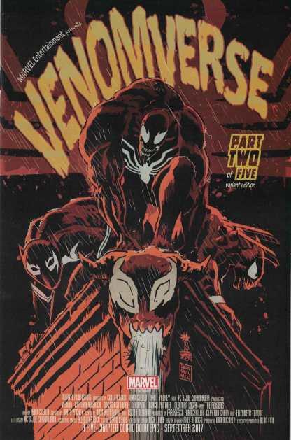 Venomverse #2 1:50 Francesco Francavilla Variant Marvel 2017 Venom