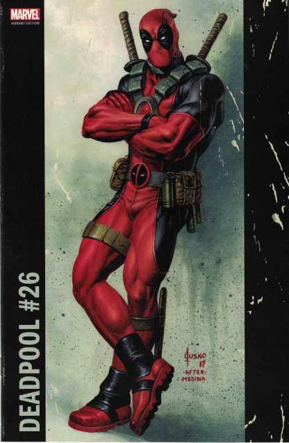 Deadpool #26 Unlocked Joe Jusko Corner Box Variant Marvel 2016