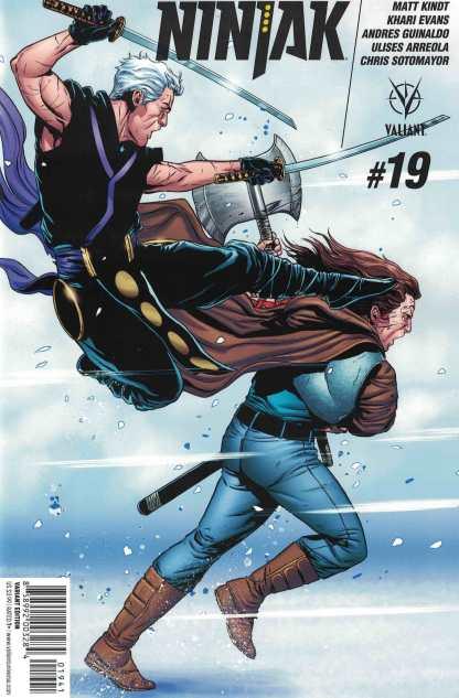 Ninjak #19 1:20 Marc Laming Variant Cover D Valiant 2015
