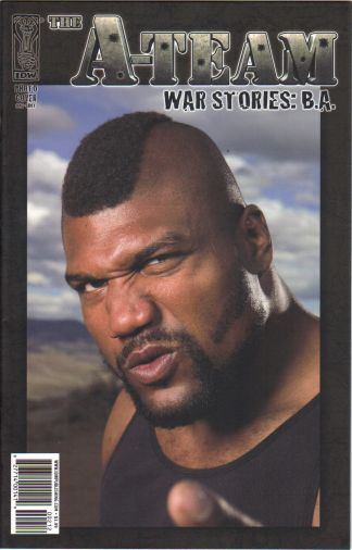 A-Team War Stories BA #1 1:10 Photo Movie Variant Mr T Bosco Baracus One-Shot