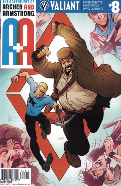 A&A Adventures Archer & Armstrong #8 1:10 Level Variant Cover C Valiant 2016