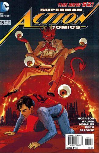 Action Comics #15 Fiona Staples Variant DC 2011 Superman New 52