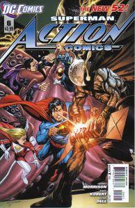 Action Comics #6 Rags Morales Variant DC Comics 2011 Superman New 52
