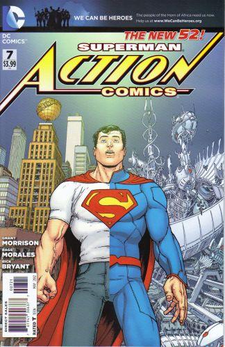 Action Comics #7 Chris Burnham Variant DC Comics New 52 2011 Superman