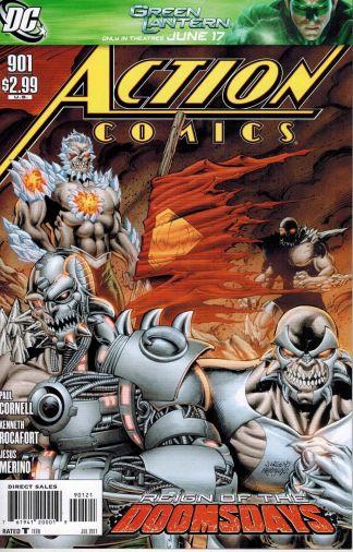 Action Comics #901 1:10 Dan Jurgens Doomsdays Variant DC 1938 Superman