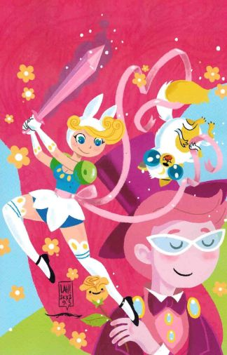 Adventure Time with Fionna & Cake #3 1:15 Lea Hernandez Virgin Variant Cover C