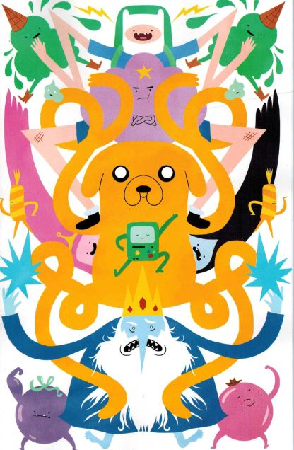 Adventure Time #12 1:15 Carre Variant Kaboom 2014 Cover C