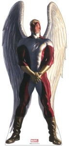 Angel 76in. Life-Size Cardboard Cutout Marvel Alex Ross Timeless Collection US Only