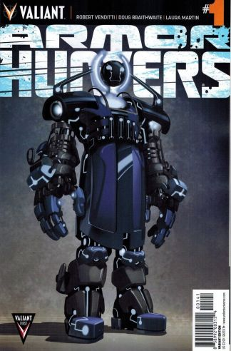 Armor Hunters #1 1:10 Clayton Crain Retailer Incentive Variant Valiant 2014