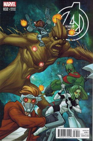 Avengers #32 1:15 Guardians of the Galaxy Variant Hickman