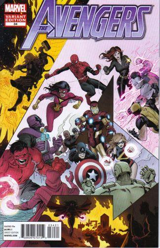 Avengers #34 Final Issue Variant
