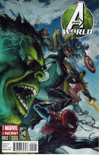 Avengers World #2 Simone Bianchi Variant 2014