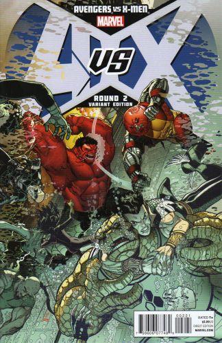 Avengers vs X-Men #2 1:100 Nick Bradshaw Variant Marvel 2012 AvX