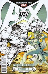 Avengers vs. X-Men #2 X-Men Team Variant