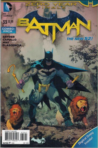 Batman #33 Combo Pack Variant