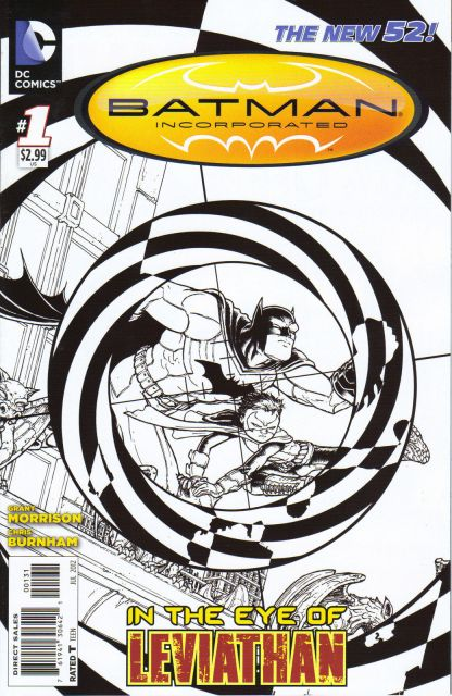 Batman Incorporated #1 Chris Burnham Sketch Variant New 52