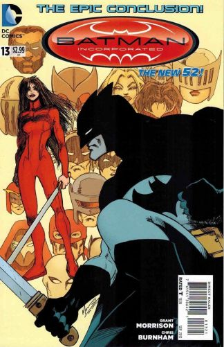 Batman Incorporated #13 Grant Morrison Variant Last Issue Finale New 52