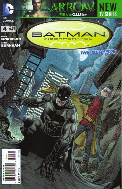 Batman Incorporated #4 Andy Clarke Variant The New 52!