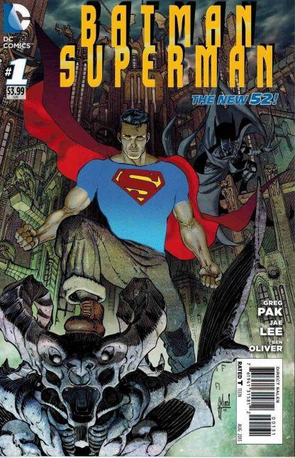 Batman Superman #1 Guillem March Batman Gotham City Variant Greg Pak Jae Lee