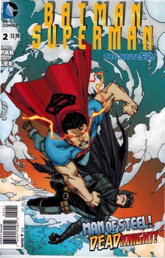 Batman Superman #2 Joe Prado Variant Greg Pak Jae Lee