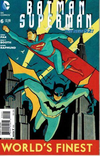 Batman / Superman #6 Cliff Chiang Variant