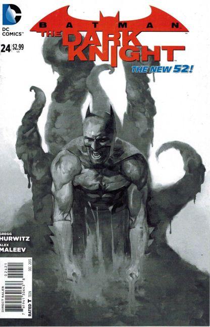 Batman: The Dark Knight #24 Alex Maleev Sketch Variant