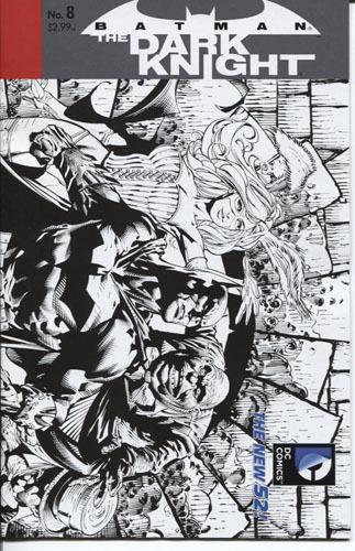 Batman: The Dark Knight #8 1:25 Sketch Variant