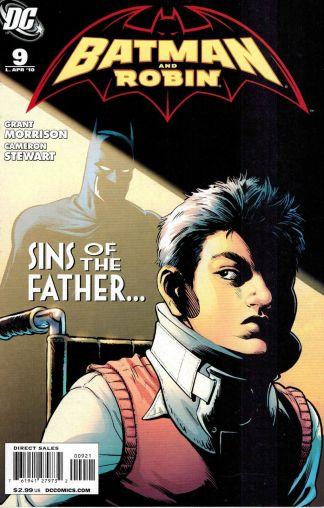 Batman and Robin #9 Cameron Stewart Variant