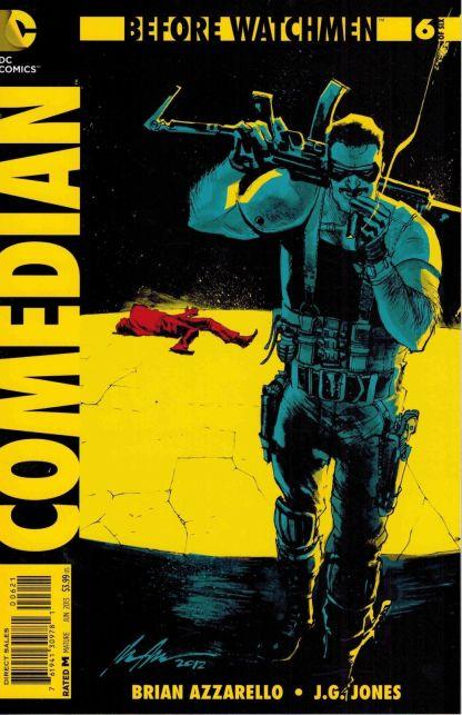 Before Watchmen Comedian #6 1:25 Albuquerque Variant DC 2012